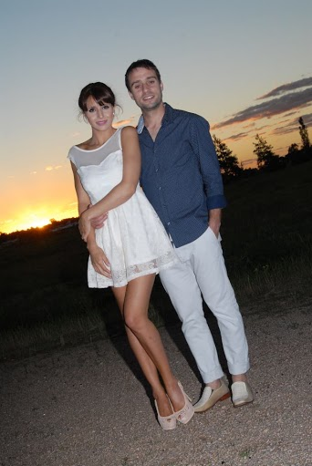 Зимой Самира и Эрнан сыграли свадьбу.