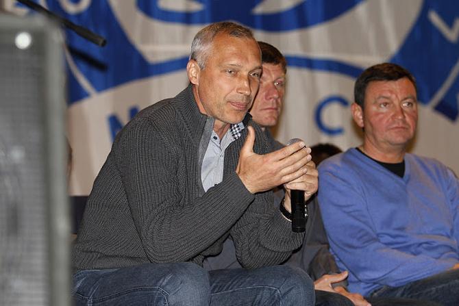 Олег Протасов завершил динамовские упражнения