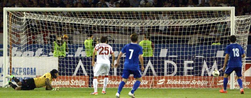 Игроки «Нафтана» поразили ворота «Црвены Звезды» аж шесть раз, но все равно не квалифицировались в следующий раунд