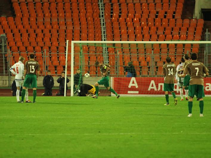 Николай Кашевский реализовал пенальти, забив свой седьмой мяч в чемпионате