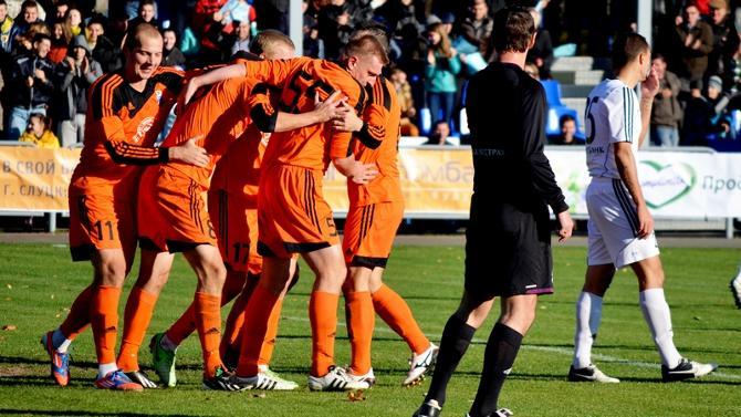«Слуцк» порадовал местных болельщиков, победив, возможно, в ключевом матче сезона