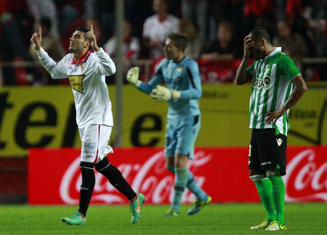 Рейес забивает очередной гол «Бетису»