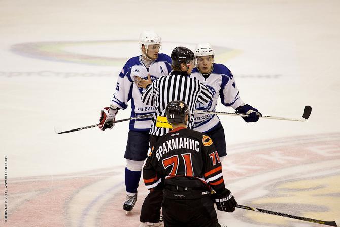 Кирилл Сачивко (слева) в любой момент готов постоять за себя.