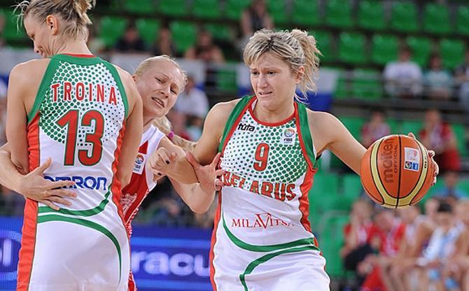 Наталья Ануфриенко выдала классный матч, как и Троина и все остальные девушки