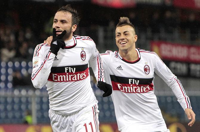 Джампаоло Паццини и забил, и отпраздновал гол несмотря на травму.