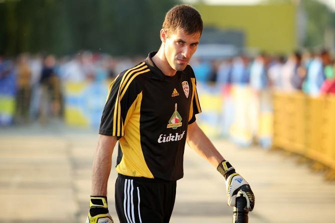 Юрий Цыгалко не хотел заканчивать карьеру, покидая стадион на носилках