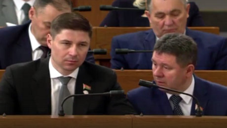 Богданович как очень внимательный слушатель президента