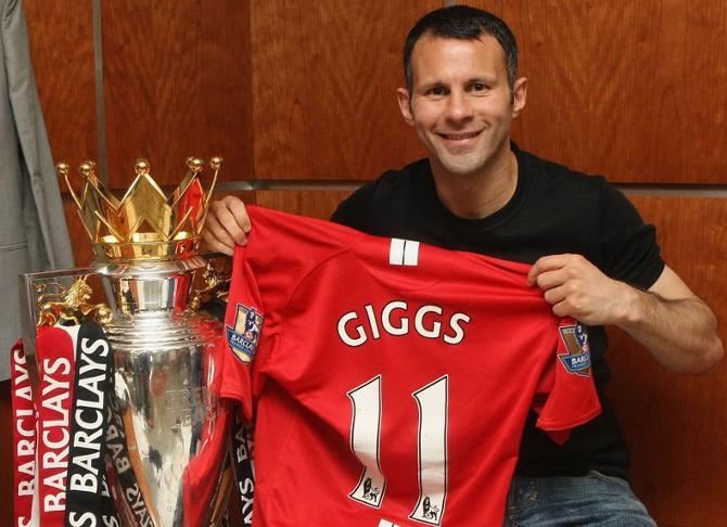 На футболке Райана Гиггза могла быть совсем другая фамилия
