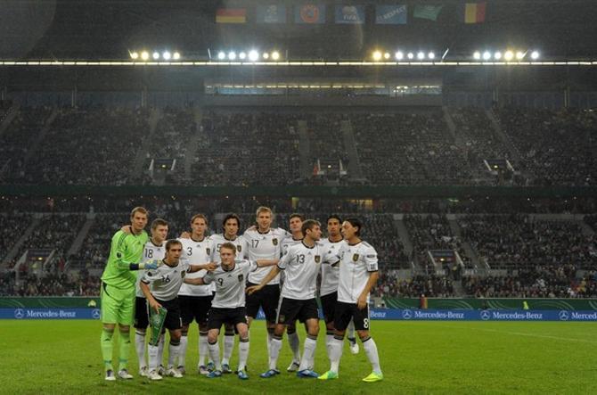 Сборная Германии провела отличный отборочный цикл, выиграл 10 матчей из 10.