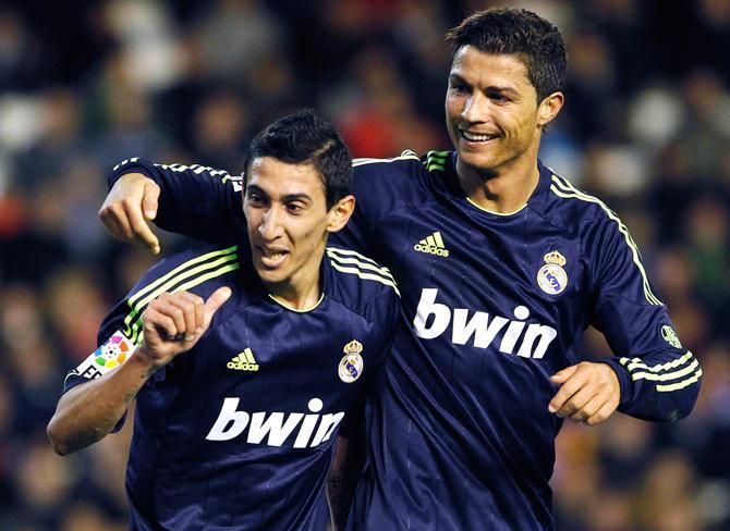 Ди Мария и Роналду забили по два мяча и отдали по голевой передаче.
