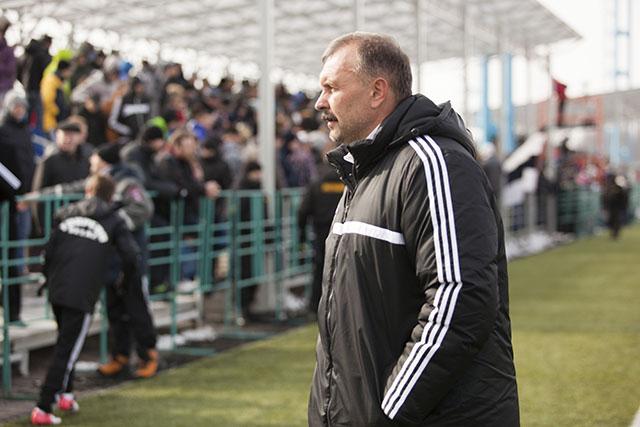 Игорь Криушенко, естественно, не рад результату матча.