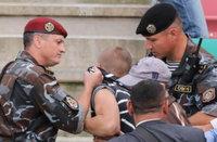 АБФФ, сборная Беларуси по футболу, милиция