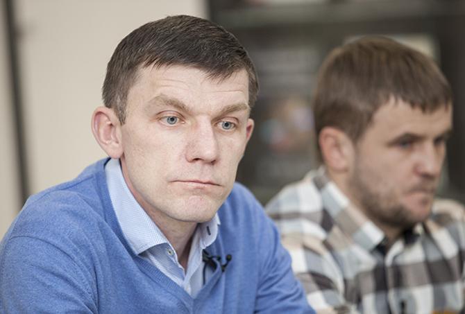 Сергей Павлюкович оказался не совсем готов к ответам на острые вопросы.
