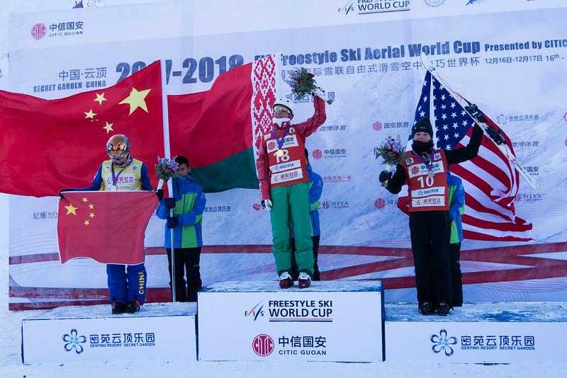 Белоруска Анна Гуськова выиграла «золото» напервом этапеКМ пофристайлу
