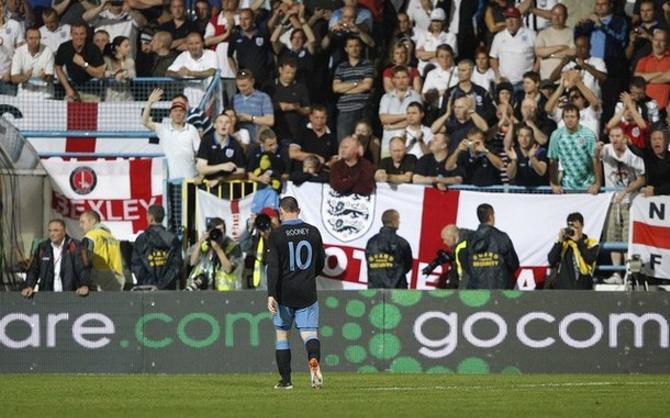 Теперь Уэйн Руни пропустит как минимум один матч групповой стадии Евро-2012.