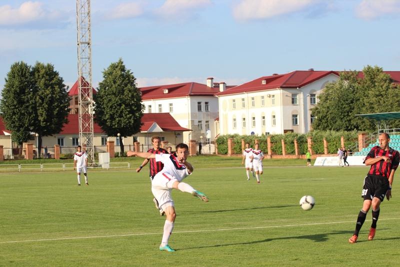 Это уже матч «Минск» — «Белшина».