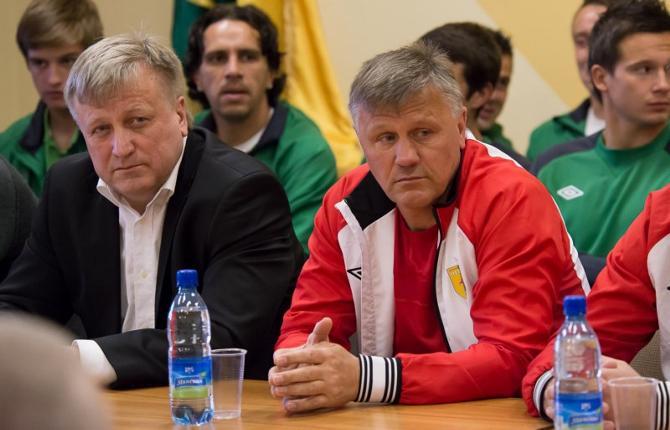 Пока председатель «Немана» и главный тренер команды остаются на своих постах