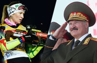 Дарья Домрачева, Александр Лукашенко, Надежда Скардино