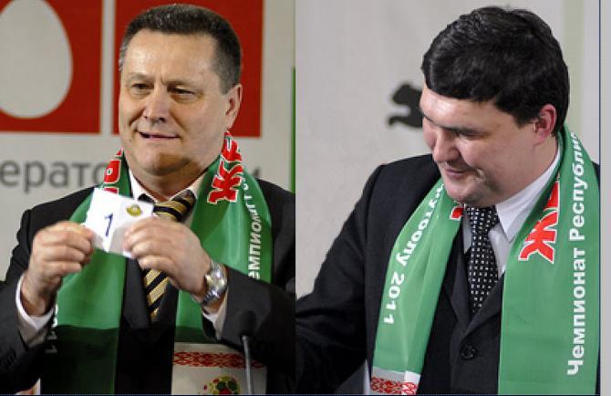 Виталий Столбицкий (слева) и Александр Сентюров остались в клубах