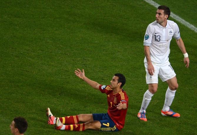 Не всем нравится игра испанцев.