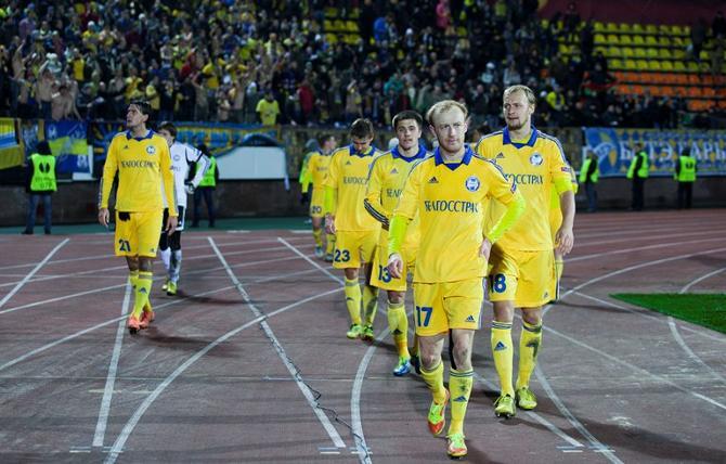 Игрокам БАТЭ не удалось воспользоваться численным преимуществом в матче с «Фенербахче»