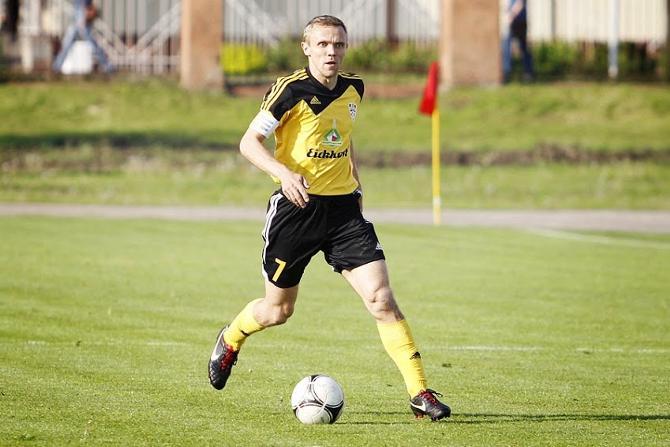 До травмы Юрия Цыгалко Андрей Леончик был самым возрастным футболистом чемпионата