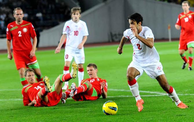 После первого матча с грузинами ничего хорошего белорусам вспоминаться не может по определению