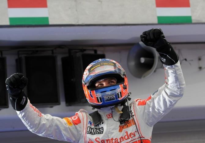 Это уже вторая победа Дженсона Баттона на Гран-при Венгрии.