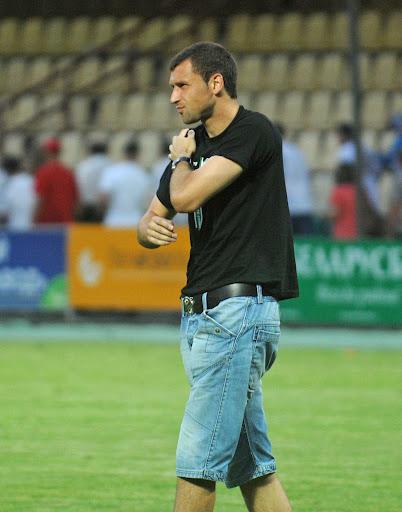 Срдян Остойич наблюдал за матчем с «Реновой» в качестве зрителя