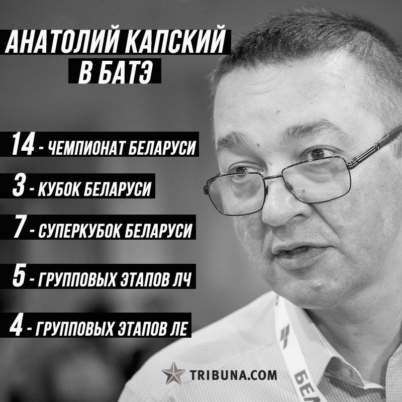 высшая лига Беларусь, БАТЭ, Анатолий Капский