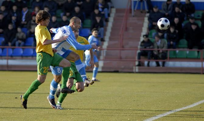 Олег Страханович пока не замечает разницы между высшей и первой лигами