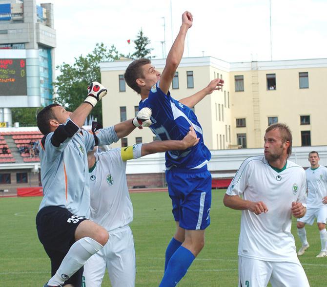 Александр Лебедев наконец-то забил, но его удар не стал для команды счастливым