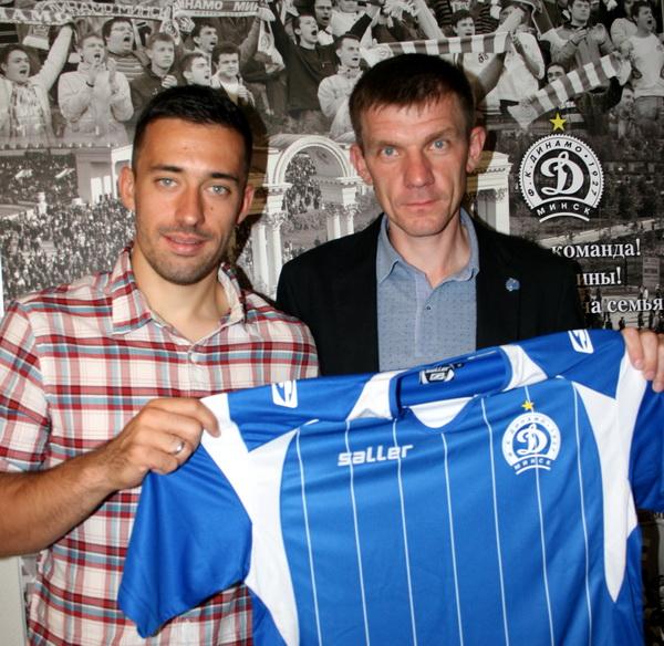 Это футболист сборной Черногории Неманья Николич, ранее принадлежавший белградскому ОФК. По условиям контракта полузащитник будет выступать за столичный клуб в ближайшие два с половиной года.