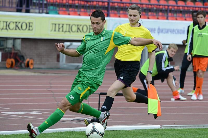 Дмитрий Рекиш не забил.