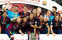 Барселона, Атлетик, Кубок Испании, беларуская мова