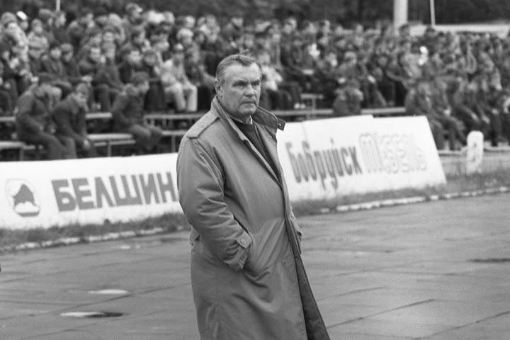 """С именем Олега Волоха связано немало значимых страниц бобруйского футбола. Будучи в разные годы главным и старшим тренером, он работал в """"Белшине"""" в 1990-99 и 2006-09 годах."""