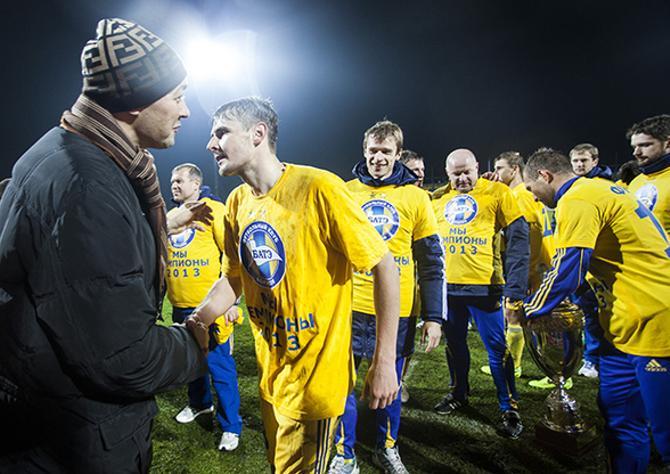 Болельщики традиционно приписывают успехи БАТЭ руководителю клуба Анатолию Капскому