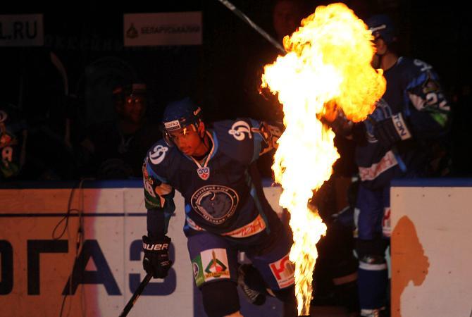 Появление Эвандера Кейна в Минске было эффектным, но огня в его игре не хватало
