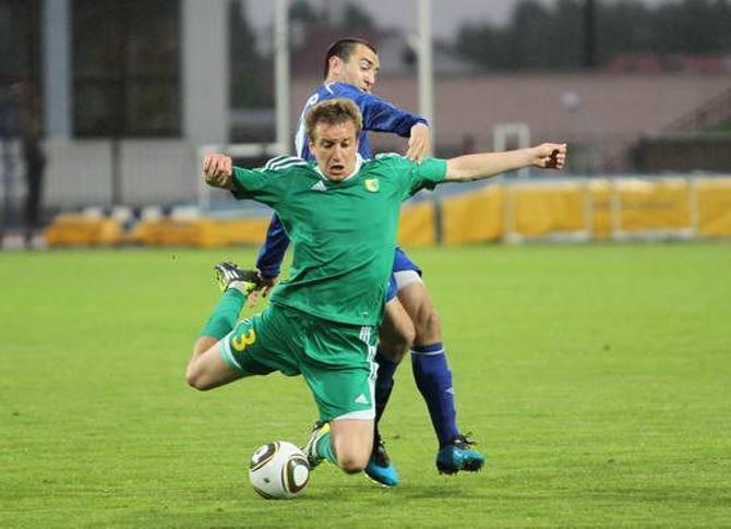 Вернувшись в клуб после датской отлучки, Евгений Савостьянов сразу же отметился голом