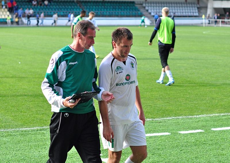 Антон Матвеенко был предельно сосредоточен перед матчем. Признался, что очень хотел забить.
