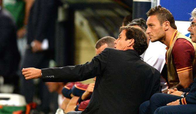 Руди Гарсия и Франческо Тотти наговорили друг другу немало комплиментов в СМИ