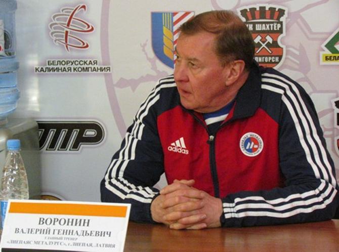 В следующем сезоне Валерий Воронин будет работать на родине