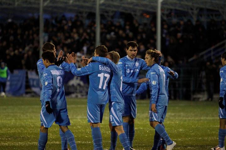 Всего пять раз футболисты «Динамо» обнимались друг с другом по случаю празднования гола.