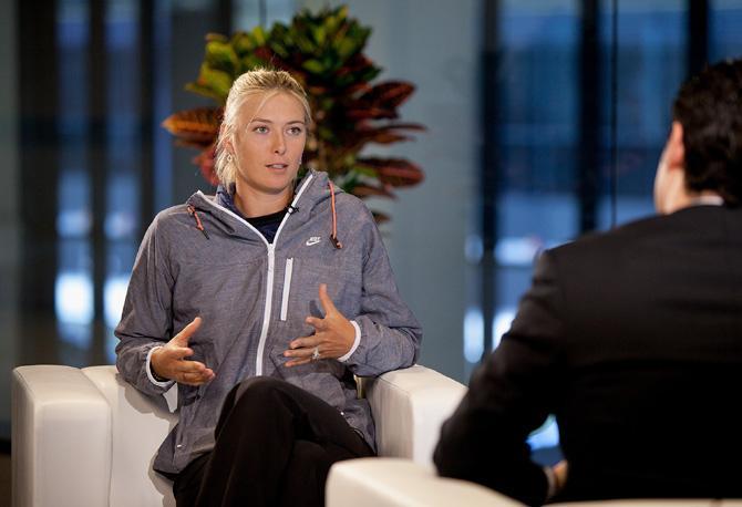 Мария Шарапова частенько троллит теннисный мир.