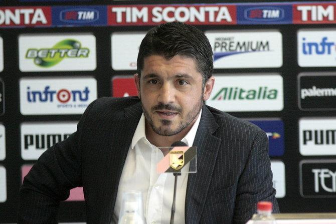 Дженнаро Гаттузо будет тренировать «Палермо» в серии В.