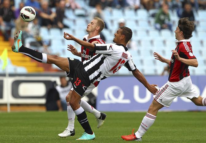 Матиас Ранеги обеспечил результат в матче с «Миланом» – гол и заработанный пенальти.