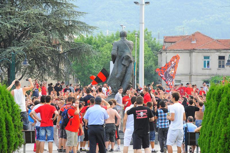 Встреча «Вардара» и БАТЭ вызвала всамделишный ажиотаж в Скопье