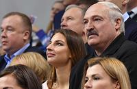 Юрий Чиж, Александр Лукашенко, Ксения Санкович, художественная гимнастика