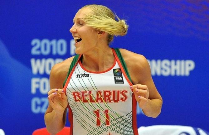 Елена Левченко стала лучшей центровой на чемпионате мира-2010.