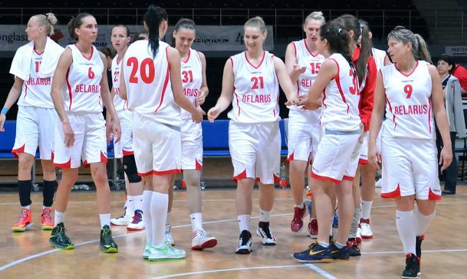 Женская сборная Беларуси по баскетболу продолжает радовать болельщиков